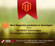 Hire Magento ecommerce developer from iMOBDEV Technologies