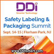 Visit DDi at Safety Labeling and Packaging summit from 14-15 Sept