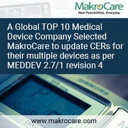 A Global TOP 10 Medical Device Company Selected MakroCare