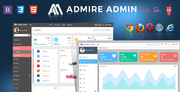 Bootstrap Laravel Admin Template - Admire